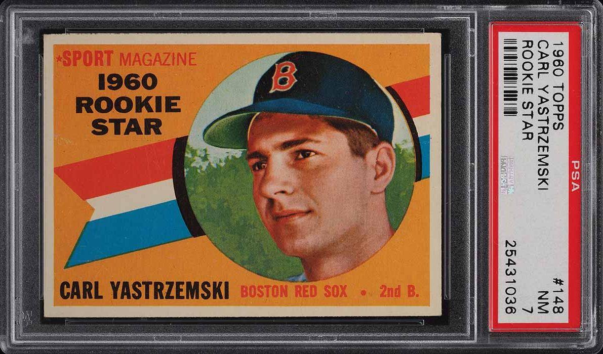 1960 Topps Carl Yastrzemski ROOKIE RC #148 PSA 7 NRMT (PWCC-A) - Image 1