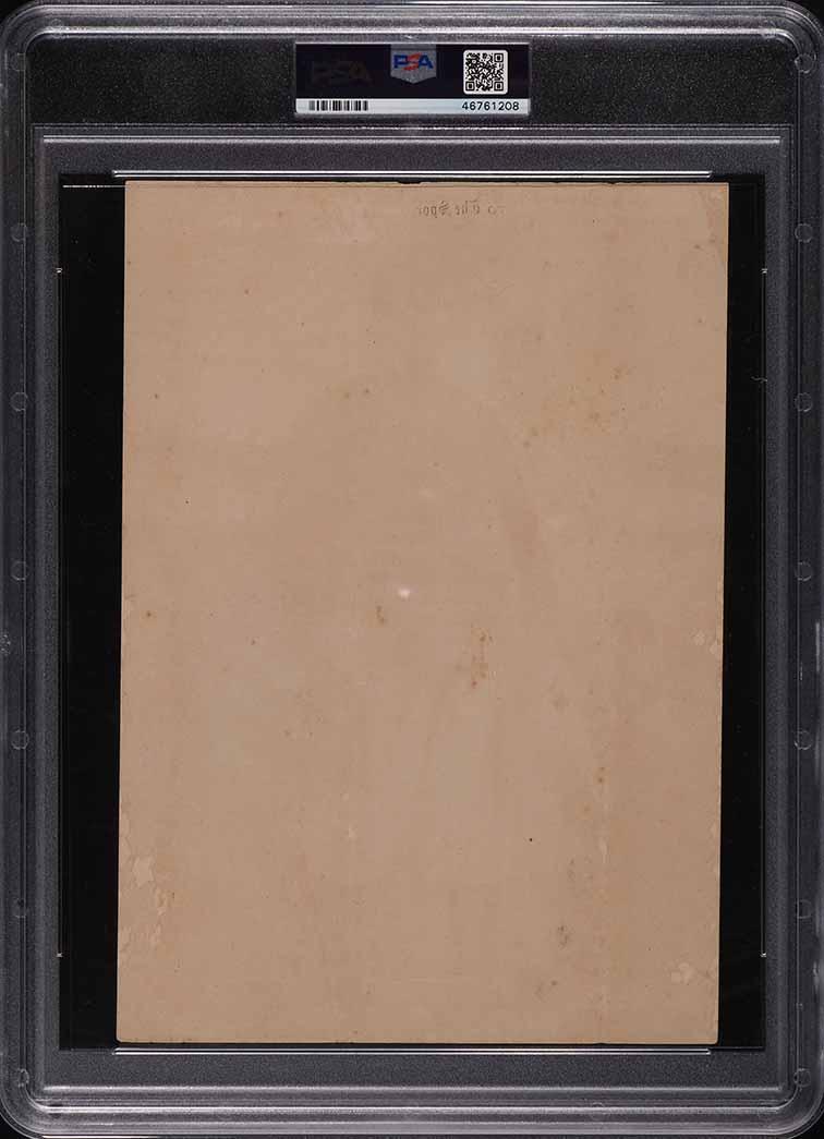 1909 M101-2 Sporting News Supplements Roger Bresnahan PSA 1 PR - Image 2