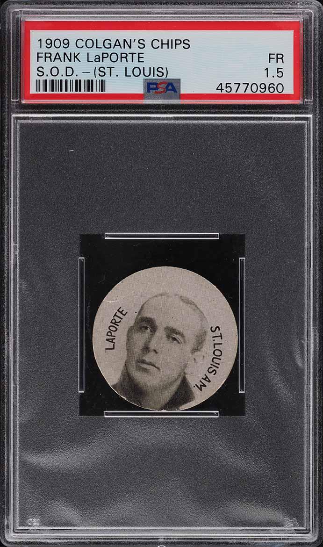 1909 Colgan's Chips Frank LaPorte St. Louis PSA 1.5 FR - Image 1