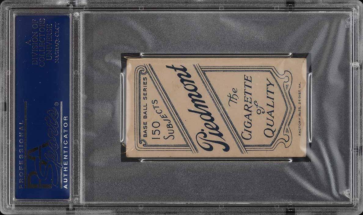 1909-11 T206 SETBREAK Barney Pelty HORIZONTAL PSA 4.5 VGEX+ (PWCC) - Image 2