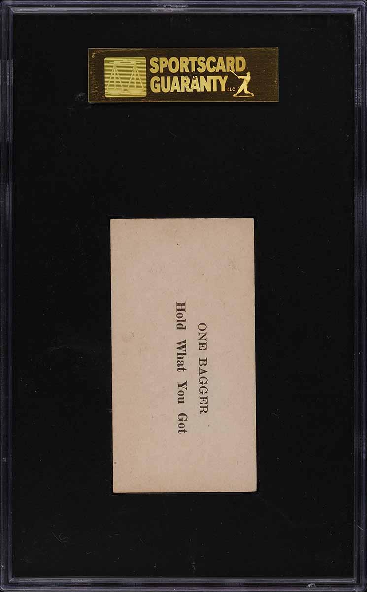 1928 W502 Strip Card Earl Smith #48 SGC 5 EX - Image 2