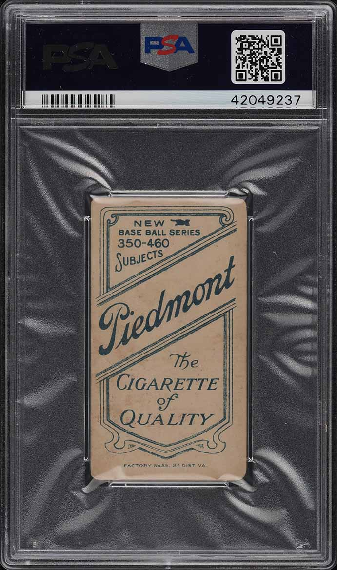 1909-11 T206 Tom Downey BATTING PSA 1.5 PR (PWCC) - Image 2