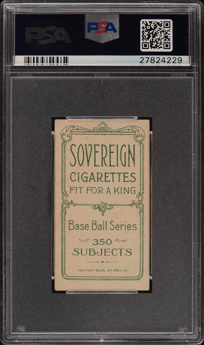 1909-11 T206 Jake Beckley SOVEREIGN PSA 5 EX (PWCC) - Image 2