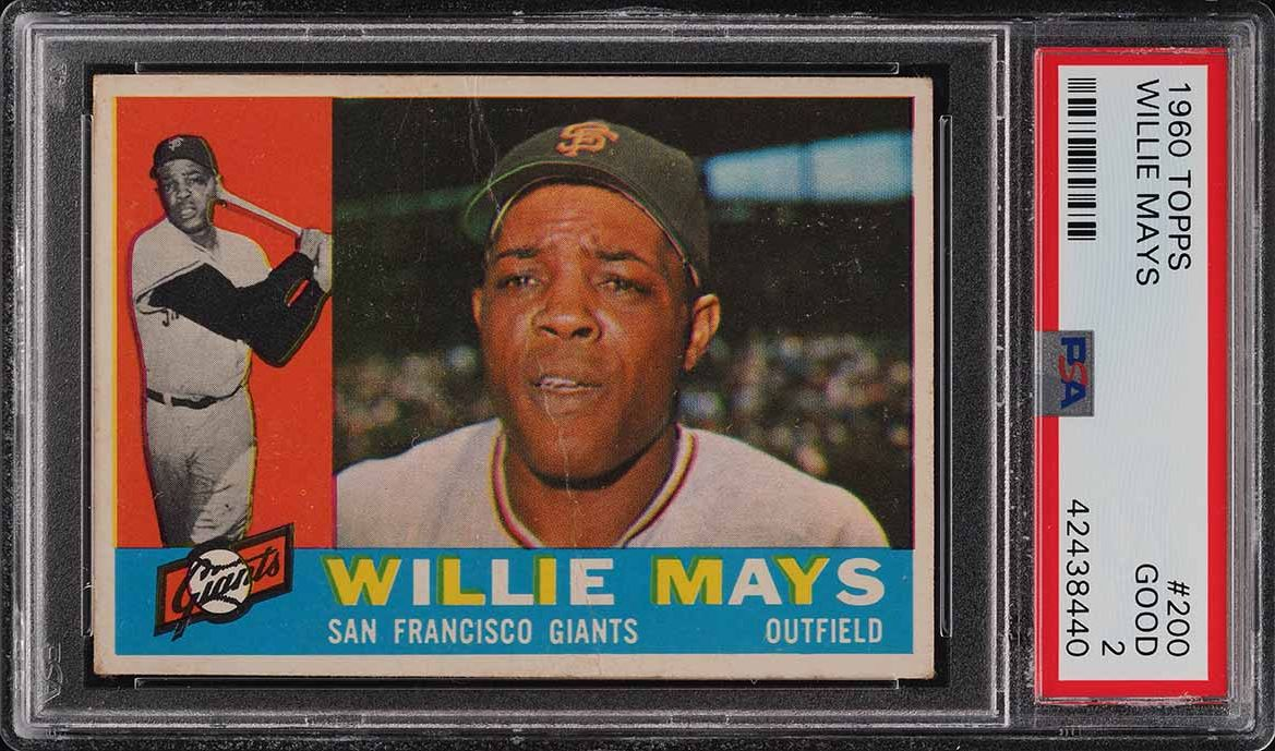 1960 Topps Willie Mays #200 PSA 2 GD - Image 1
