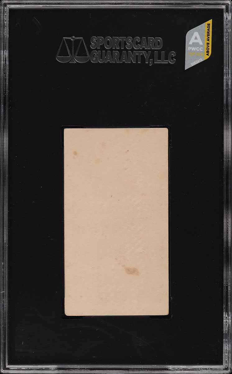 1909 E97 Briggs Lozenge Black & White Harry Davis SGC 1.5 FR (PWCC-A) - Image 2