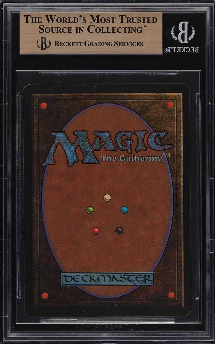 1993 Magic The Gathering MTG Beta Mox Ruby R A BGS 9.5 GEM MINT (PWCC) - Image 2