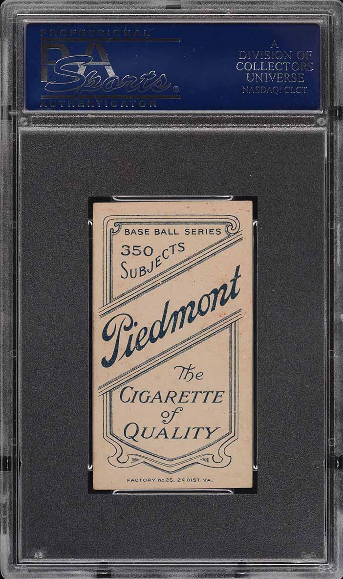 1909-11 T206 Jake Beckley PSA 5.5 EX+ - Image 2