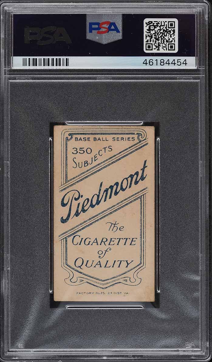 1909-11 T206 Ty Cobb RED PORTRAIT PSA 5 EX - Image 2