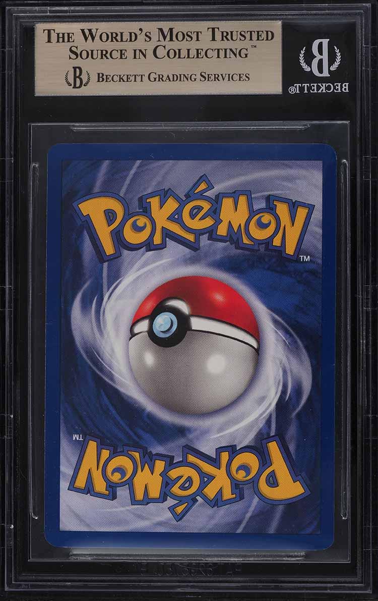 1999 Pokemon Base Set 1st Edition Base Set Holo Charizard 4/102 BGS 9.5 GEM MINT - Image 2