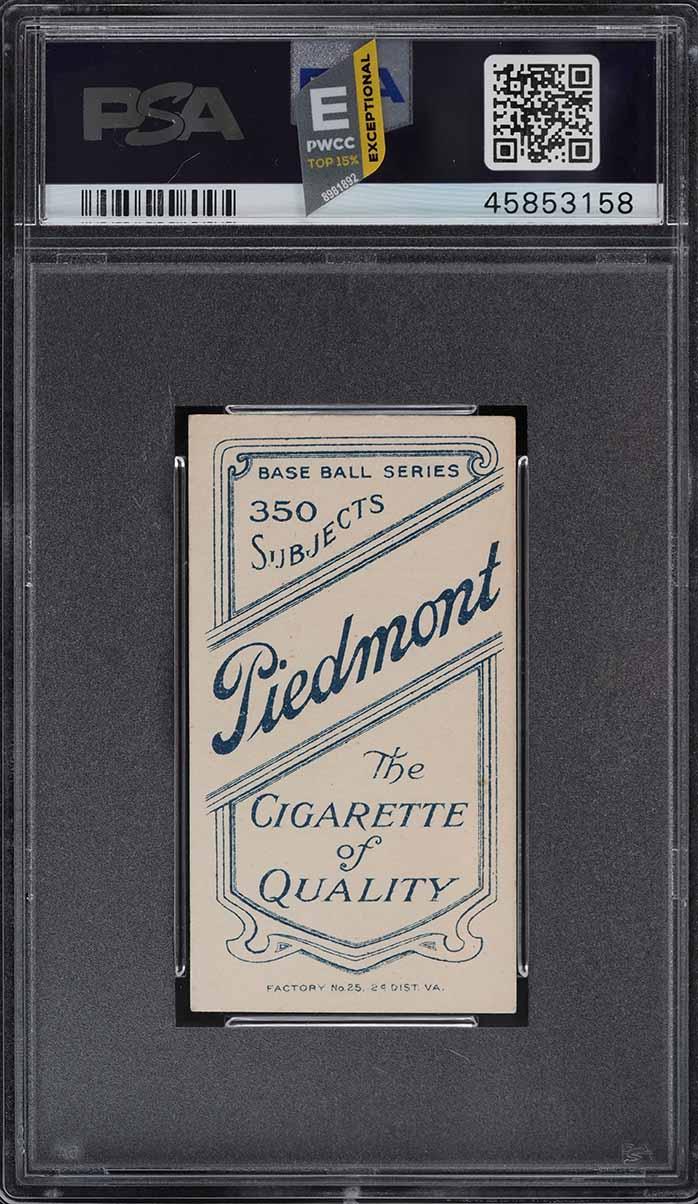 1909-11 T206 Red Ames PORTRAIT PSA 6.5 EXMT+ (PWCC-E) - Image 2