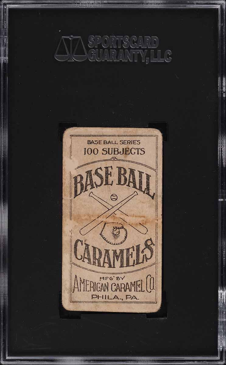 1909 E90-1 American Caramel Bobby Wallace SGC 1.5 FR - Image 2
