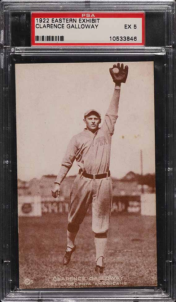 1922 Eastern Exhibit Clarence Galloway PSA 5 EX - Image 1