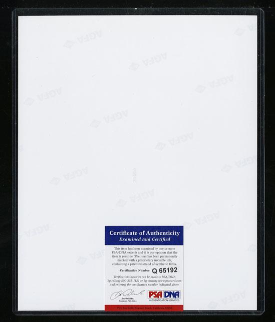 Whitney Houston Signed Autographed 8x10 Photograph AUTO, PSA/DNA COA (PWCC) - Image 2