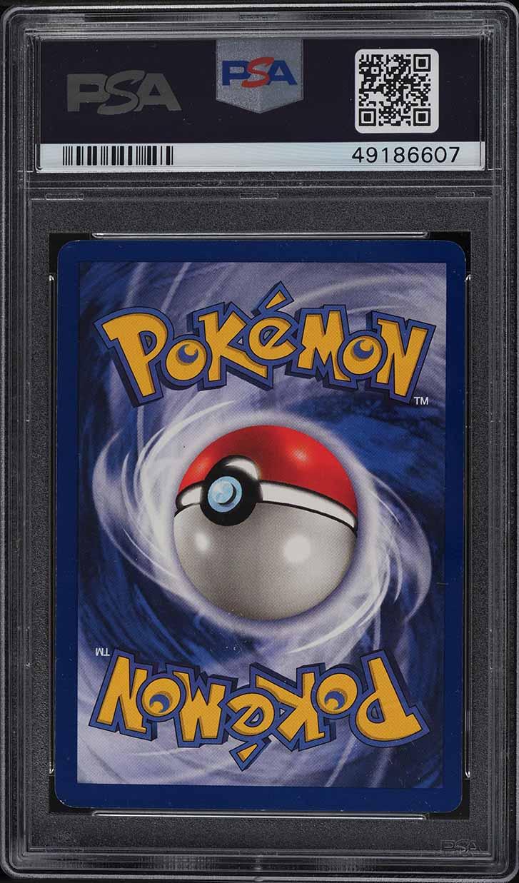 1999 Pokemon Game 1st Edition Holo Charizard #4 PSA 7 NRMT - Image 2