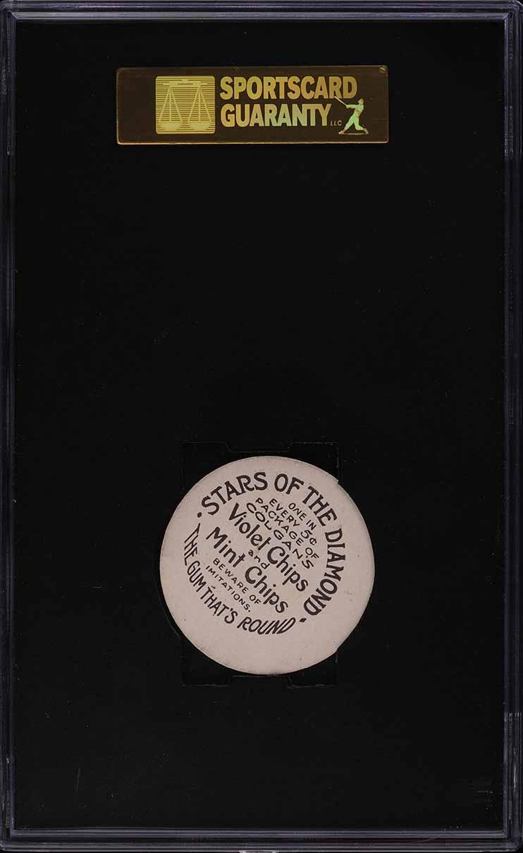 1909 Colgan's Chips Sullivan LOUISVILLE SGC 8.5 NM-MT+ - Image 2