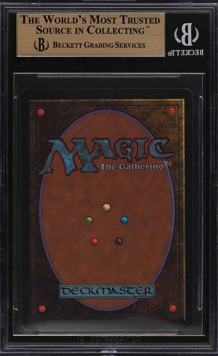 1993 Magic The Gathering MTG Beta Black Lotus R A BGS 9.5 GEM MINT (PWCC) - Image 2