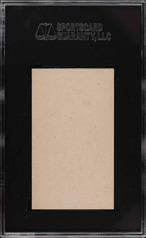 1922 W573 Strip Card Jesse Barnes SGC 4 VGEX - Image 2
