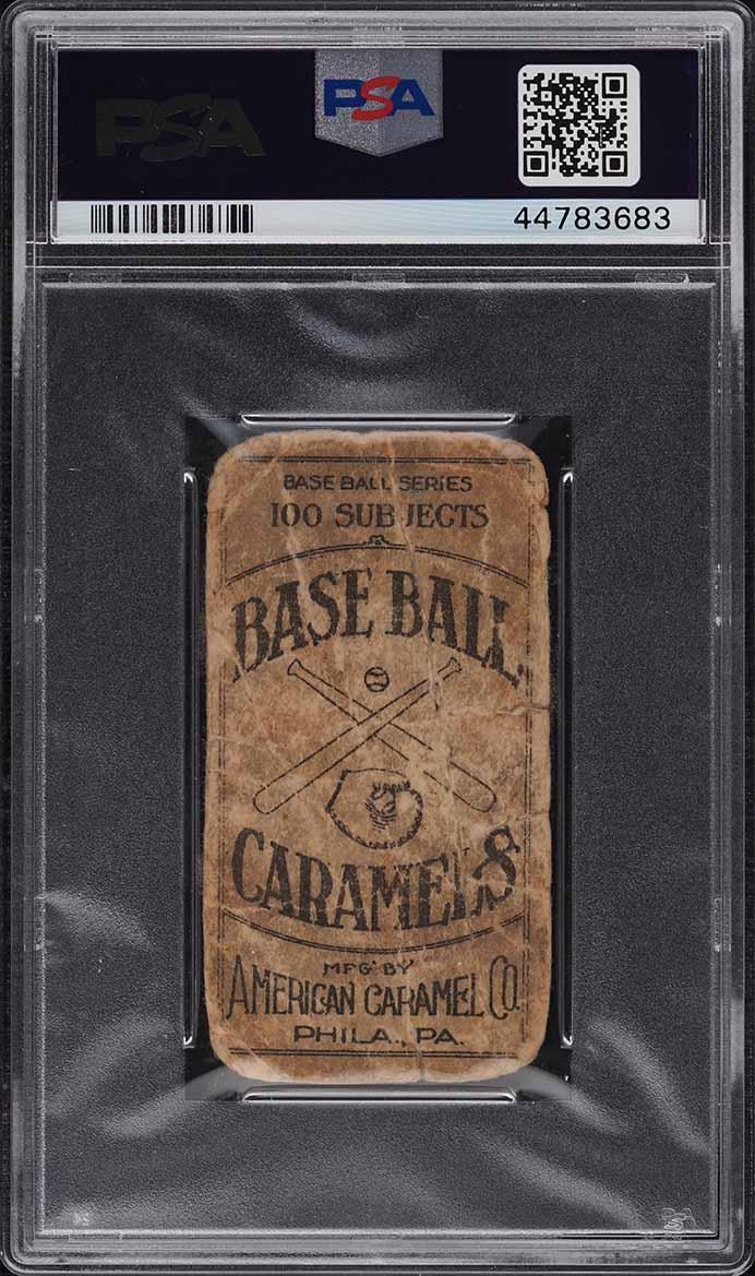 1909 E90-1 American Caramel Dolly Gray PSA 1 PR - Image 2