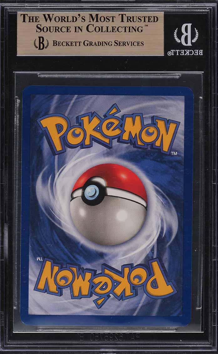 1999 Pokemon Base Set Unlimited Holo Charizard #4 BGS 9.5 GEM MINT - Image 2