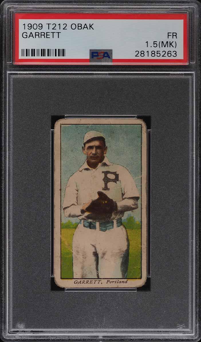 1909 T212 Obak Garrett PSA 1.5(mk) PR - Image 1