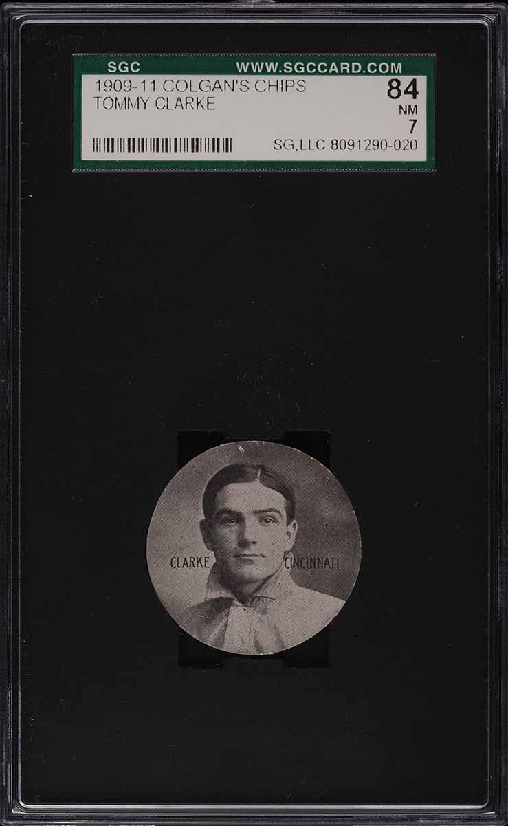 1909 Colgan's Chips Tommy Clarke SGC 7 NRMT - Image 1