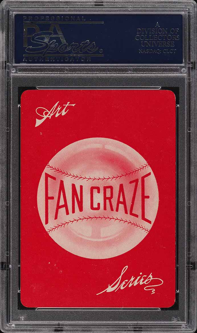 1906 Fan Craze N.L. Vic Willis PSA 8 NM-MT - Image 2