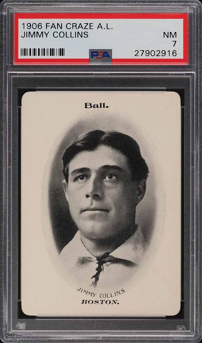 1906 Fan Craze A.L. Jimmy Collins PSA 7 NRMT - Image 1