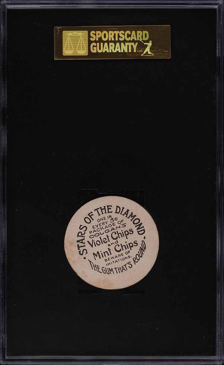 1909 Colgan's Chips Johnny Evers SGC 7 NRMT - Image 2