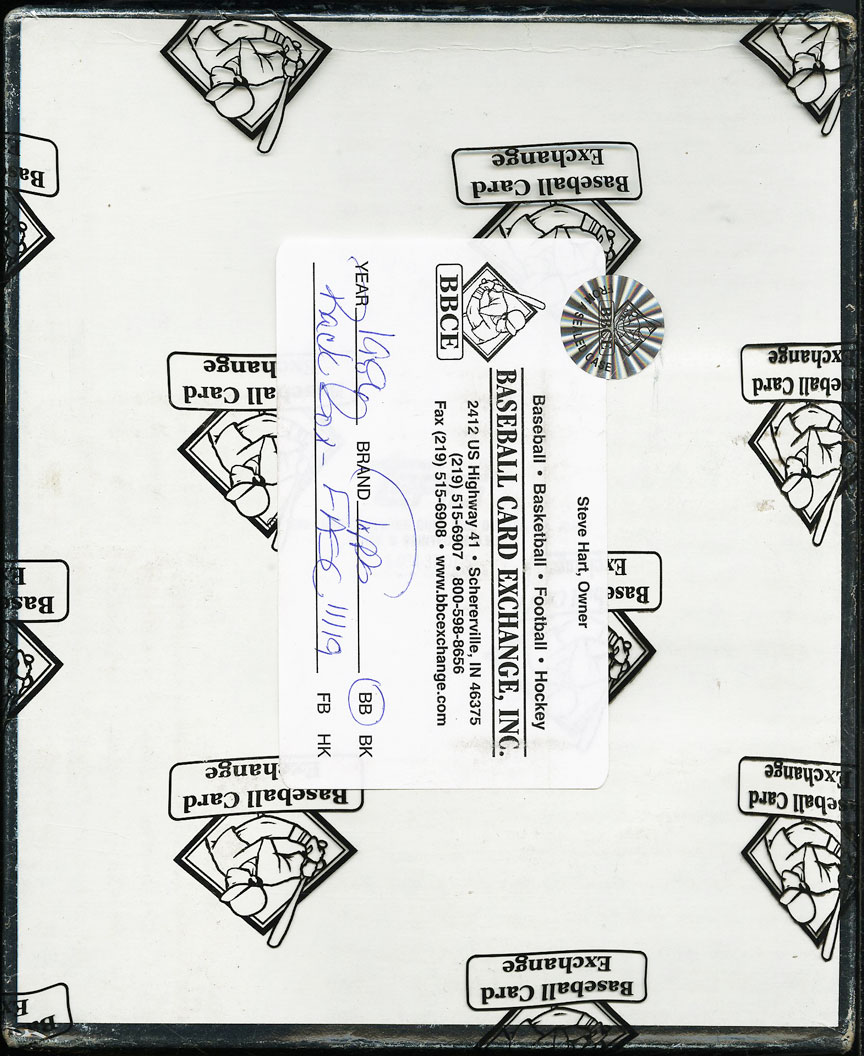 1986 Topps Baseball Rack Box BBCE Authenticated FASC 24ct Rack Packs - Image 2