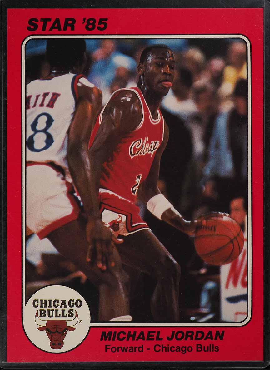 1985 Star Team Supers 5X7 Michael Jordan ROOKIE RC #CB1 (PWCC) - Image 1
