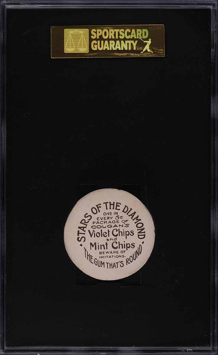 1909 Colgan's Chips Home Rune Baker SGC 7.5 NRMT+ - Image 2