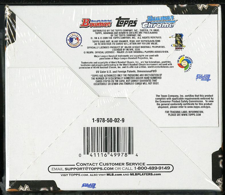 2009 Bowman Draft Picks & Prospect Retail Box, Mike Trout ROOKIE? - Image 2