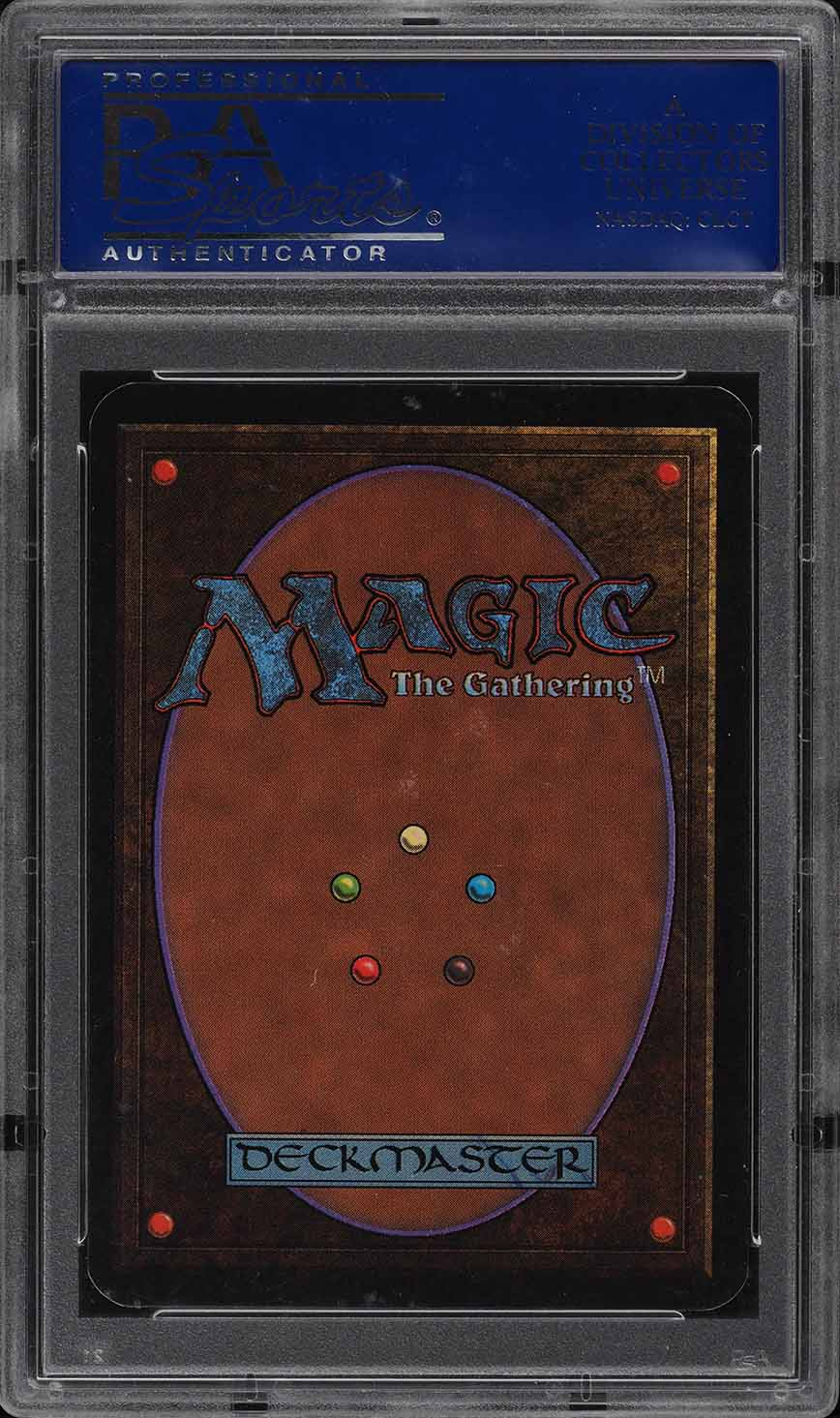 1993 Magic The Gathering MTG Alpha Dual Land Tundra R L PSA 10 GEM MINT (PWCC) - Image 2