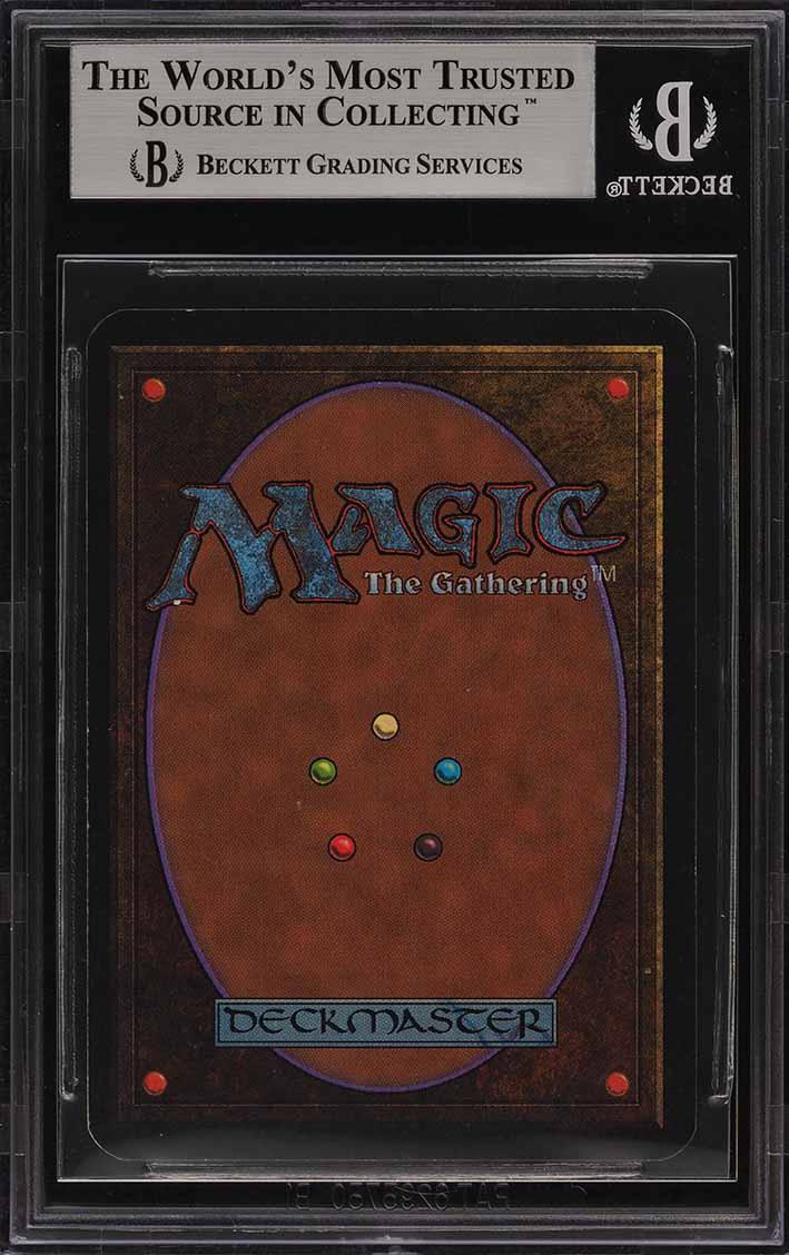 1993 Magic The Gathering MTG Alpha Mox Sapphire R A BGS 8.5 NM-MT+ (PWCC) - Image 2