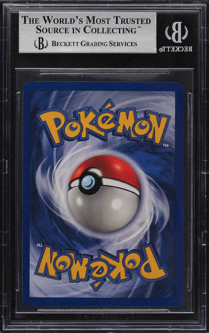 1999 Pokemon Game 1st Edition Holo Charizard #4 BGS 9 MINT - Image 2