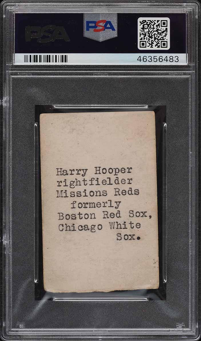 1927 Zeenut Pacific Coast League Hooper PSA 2(mk) GD - Image 2
