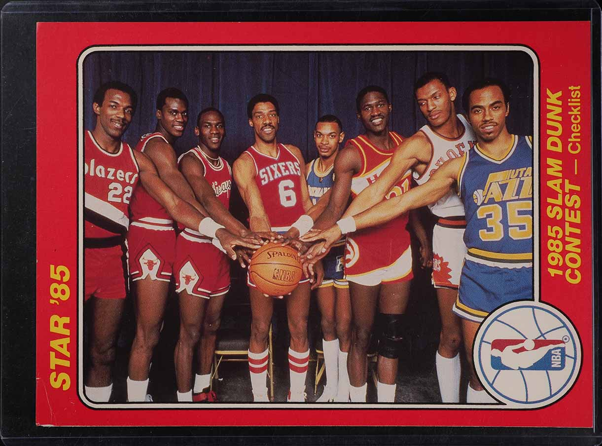 1985 Star Team Supers 5X7 Group Photo w/ Michael Jordan ROOKIE RC #1 (PWCC) - Image 1