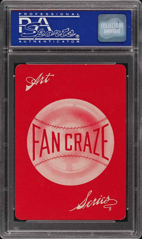 1906 Fan Craze N.L. Frank Chance PSA 8 NM-MT - Image 2