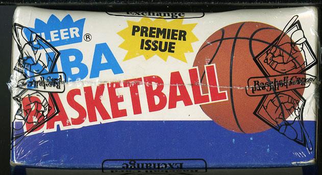 1986 Fleer Basketball Wax Box, 36ct Packs, Michael Jordan ROOKIE, BBCE Auth, LOA - Image 5