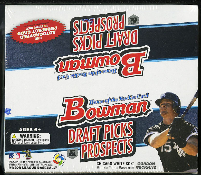 2009 Bowman Draft Picks & Prospect Retail Box, Mike Trout ROOKIE? - Image 1