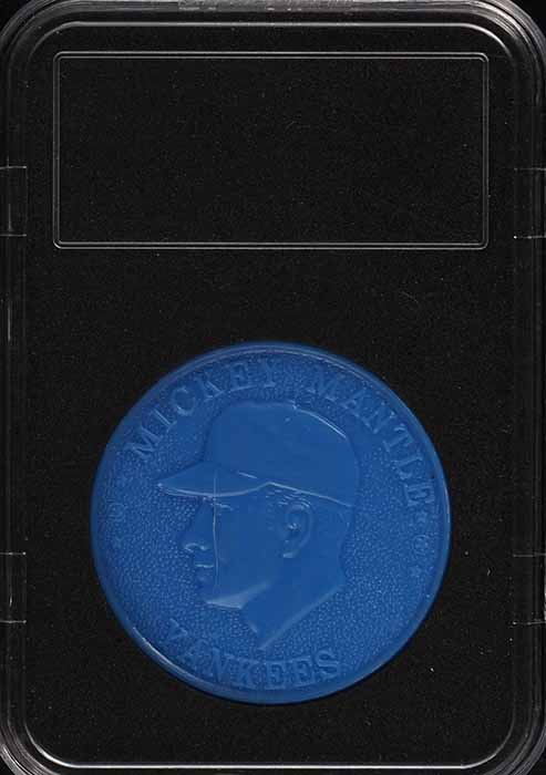 1960 Armour Coins Blue Mickey Mantle  - Image 1