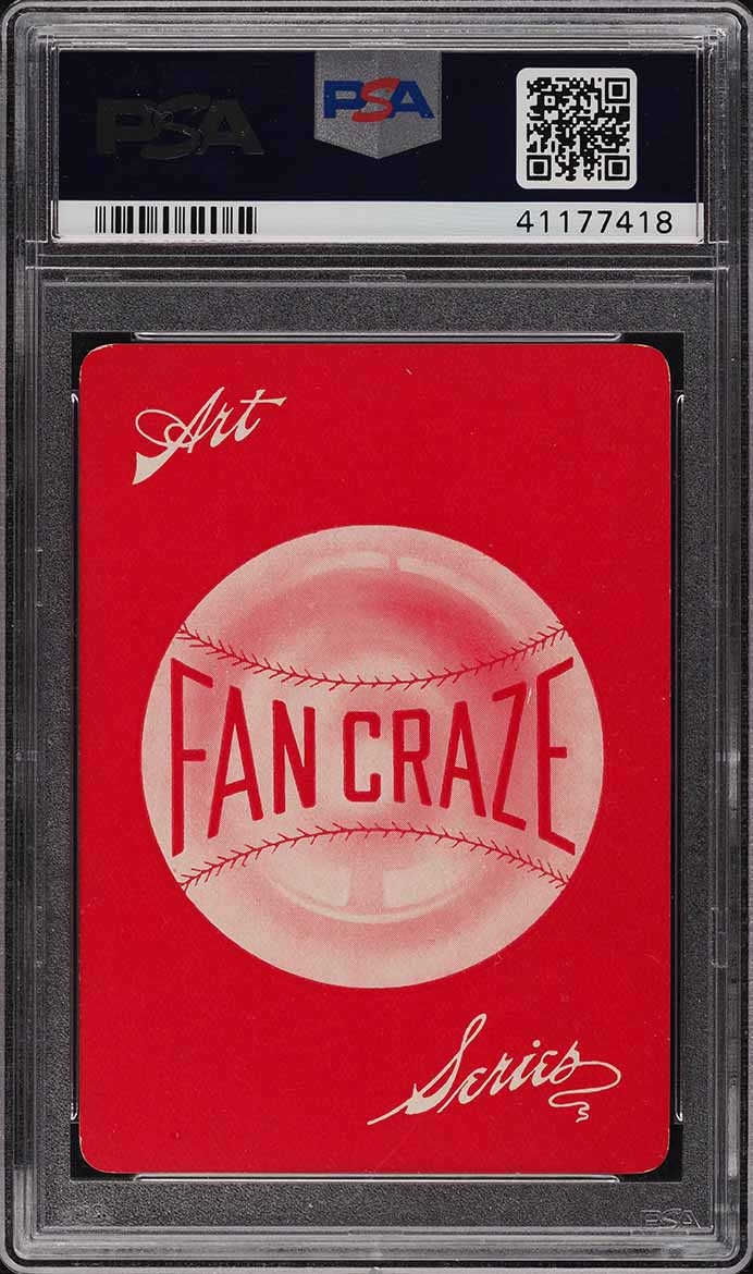 1906 Fan Craze N.L. Joseph Kelley PSA 8 NM-MT - Image 2