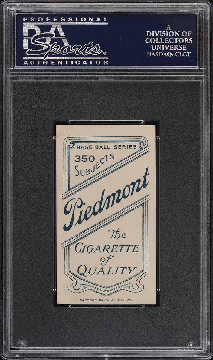 1909-11 T206 SETBREAK Billy Purtell PSA 4 VGEX (PWCC) - Image 2