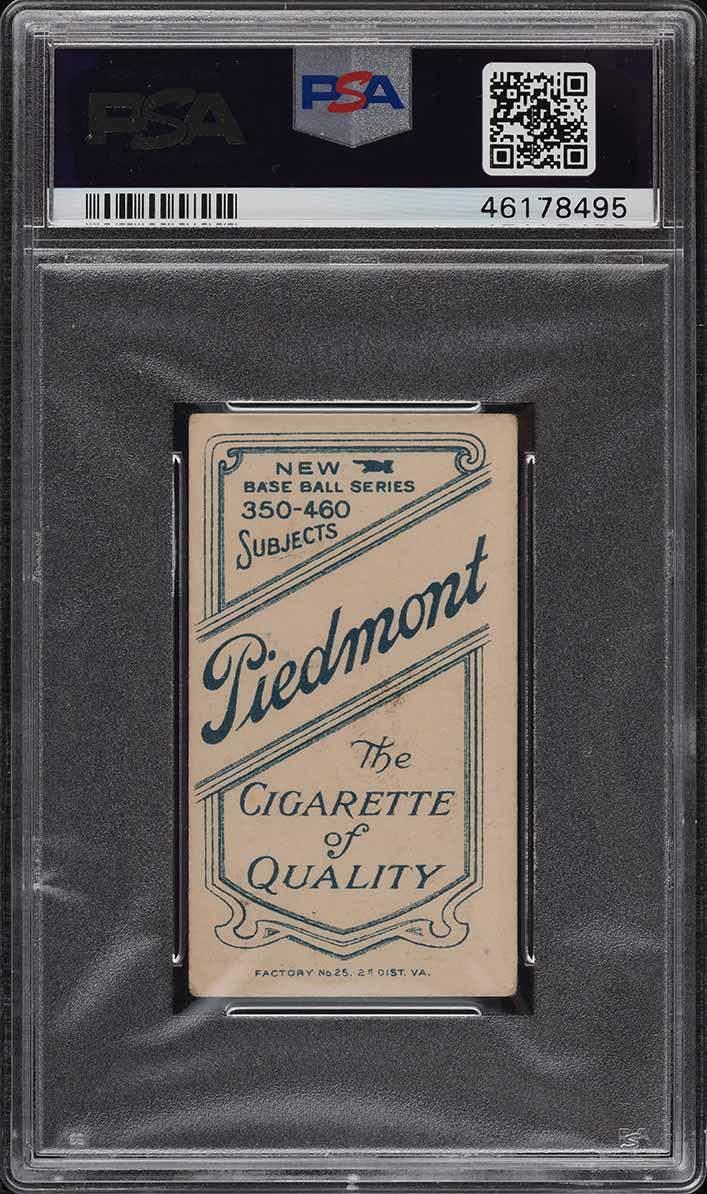 1909-11 T206 Bill Bergen CATCHING PSA 2 GD - Image 2