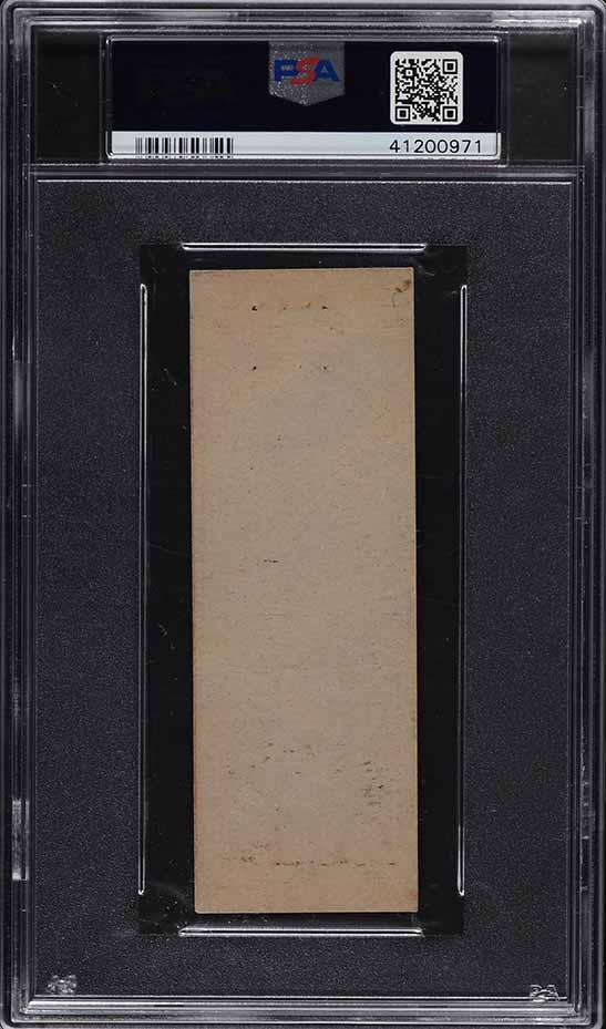 1934 Diamond Matchbooks Silver Border Bill Klem PSA 3 VG - Image 2