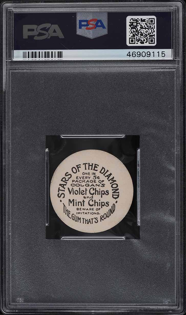 1909 Colgan's Chips Stars Of The Diamond Harry Gaspar PSA 7 NRMT - Image 2