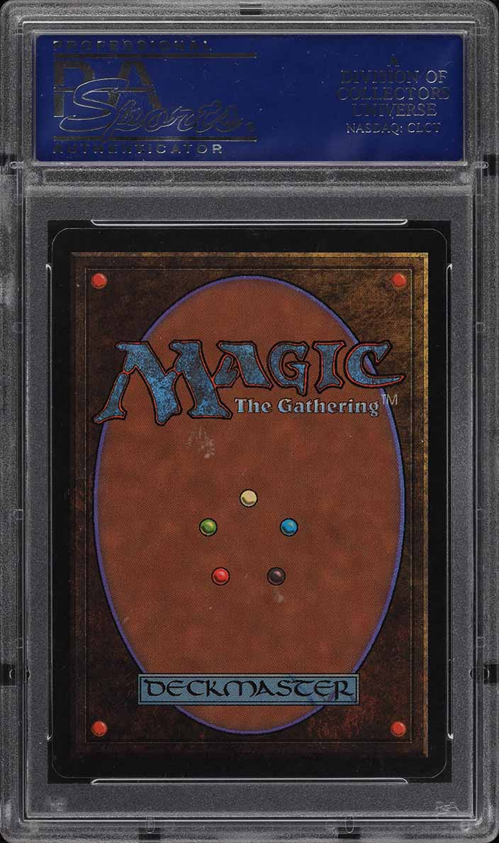 1993 Magic The Gathering MTG Beta Mox Sapphire R A PSA 10 GEM MINT (PWCC) - Image 2