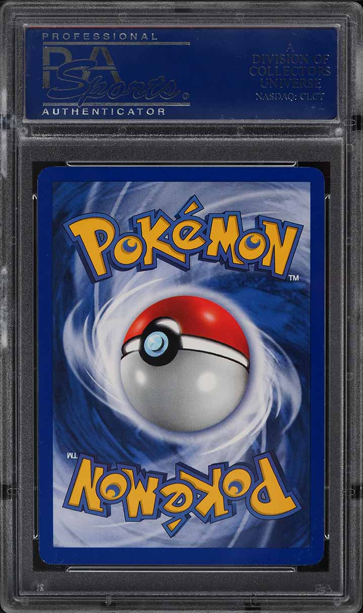 1999 Pokemon Base 1st Edition Holo Thick Stamp Shadowless Charizard #4 PSA 10 - Image 2