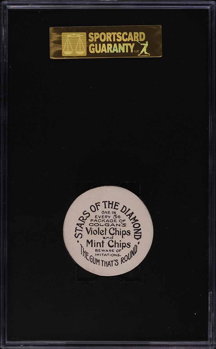 1909 Colgan's Chips Tommy Clarke SGC 7 NRMT - Image 2