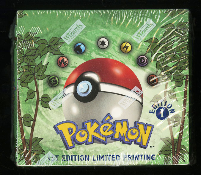 1999 Pokemon Jungle 1st Edition Factory Sealed Booster Box - Image 1